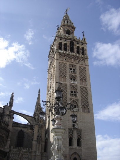Bell tower of the Sevilla's cathedral