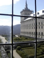 Looking out at El Escorial