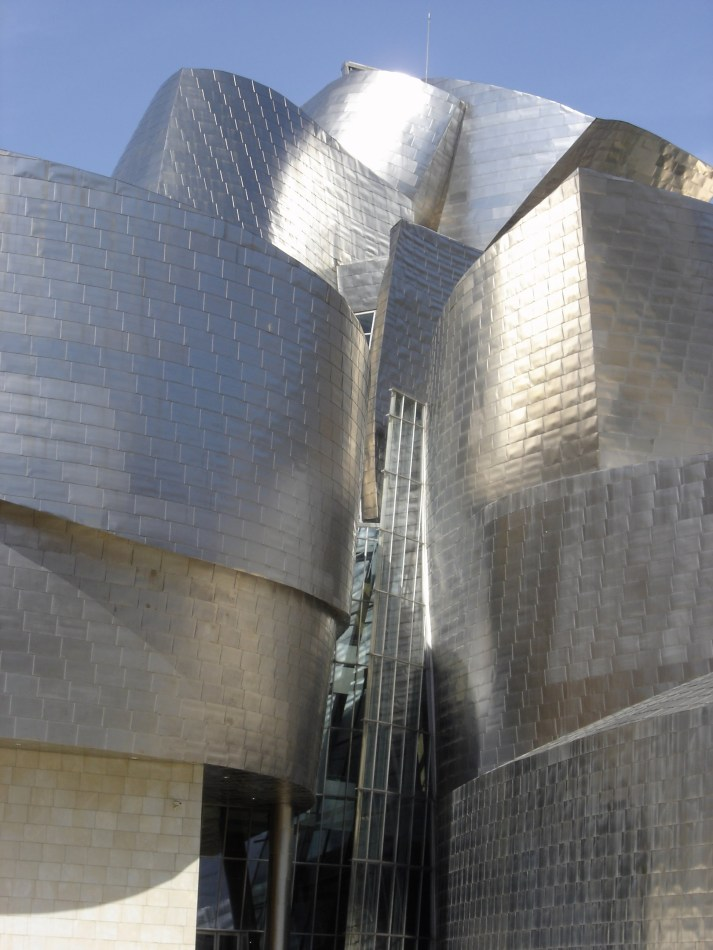 A close up of the Guggenheim