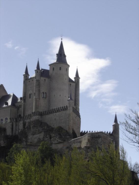 The castle in Segovia