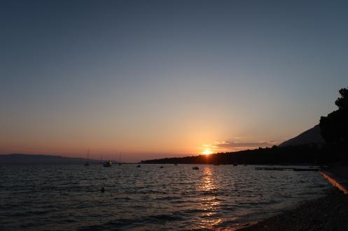 Sunset from Plaza Borak