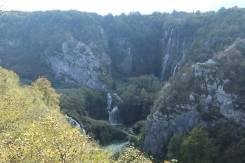 Big waterfall at lower lakes