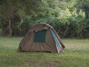 Camping made sense when on safari in Tanzania.