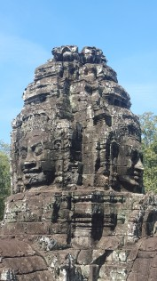 The big faces of Bayon