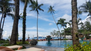 Relaxing at Centara Grand Beach Resort & Villas