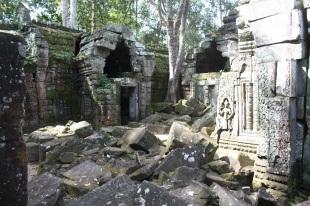A quiet ruin near Ta Prohm