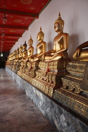 Buddhas at the Grand Palace, Bangkok