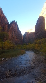 Stepping into the Virgin River