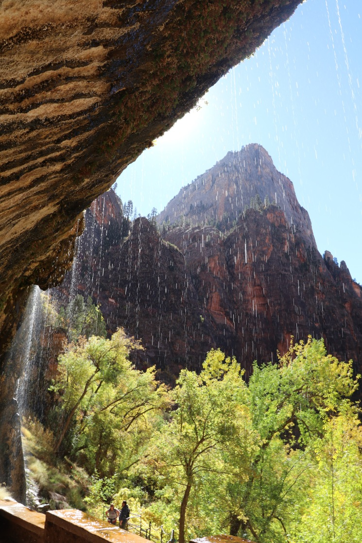 The weeping rock