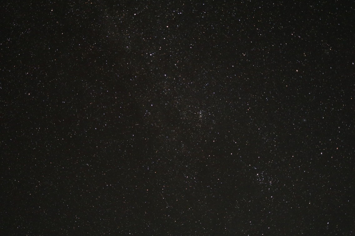 Taking photos of the stars