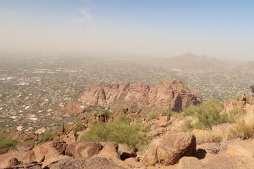 View from the top of Camelback Mountain