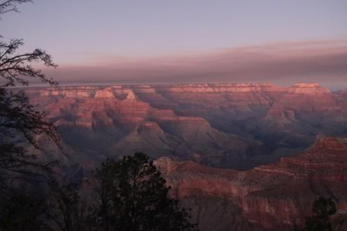 Sunset light colors