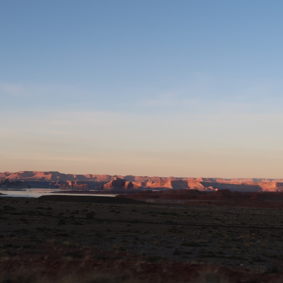 Sunset over Lake Powell