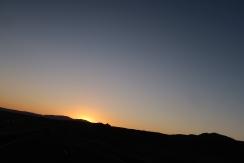 Our last Utah sunset.