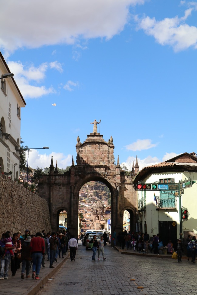 Entering Cusco